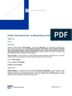ENable Trend Reporting
