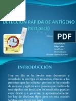 Test Pack Sifilis y Faringoamigdalitis