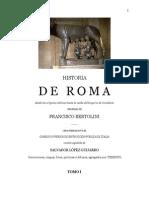 Historia de Roma - Tomo I