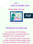 Unit1-IntroductiontoHealthCare