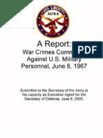 USS Liberty Attack War Crime Report