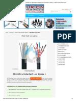 FRLS Multi Core Cables - FRLS Multi Core Cables Exporter, Manufacturer, Distributor, Supplier, Trading Company, Delhi, India
