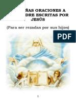 PEQUEÑAS ORACIONES A DIOS PADRE ESCRITAS POR JESÚS