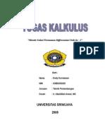 Cover Kalkulus Dedy