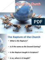 Rapture Compared and Contrasted with the Second Coming