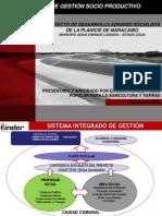 Modelo de gestión Proyecto Diluvio el Palmar, Venezuela