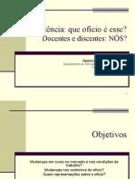 A Docencia Como Oficio