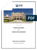 ISB Campus Info & Guide to Services