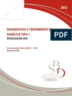 Diagnostico e Tratamento Dm Posicionamento Da Sbd 2012