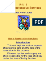Unit 13-Basic Restorative Services