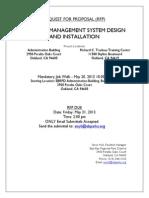 BMS System RFP Final