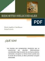 RESORTES HELICOIDALES