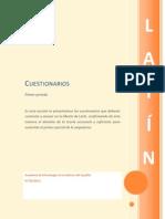 Cuestionarios+Etimologias+1+Latin+12 13