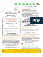 2013 FALL-Electronic Version Free Parent Workshops Flyer