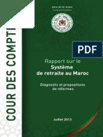 Rapport sur le système de retraite au Maroc _ Diagnostic et Propositions de Reformes _
