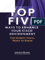 Top 5 Ways to Enhance Your Cisco Environment