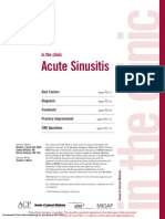 ANNALS Acute Sinusitis