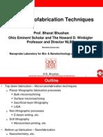 Micro Nanofab Techniques