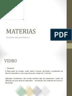 Materias Da II