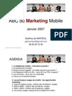 2 Mobile Marketing Principaux Usages G de Nanteuil