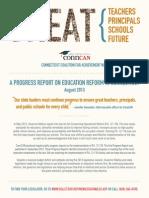 August 2013 Progress Report