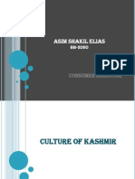 Kashmir (Consumer Behavior)