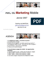 4 Mobile Marketing Etudes de Cas G de Nanteuil