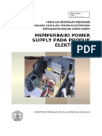 Memperbaiki Power Supply Pada Produk Elektronika