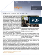 Tunisia - A Chance for Democracy