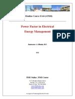 power factor management scheme is best described here.