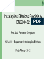 ENG04482 Aula 11 Esquemas Instalacoes