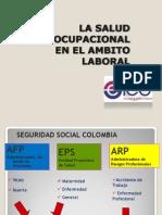 La Salud Ocupacional en El Ambito Laboral