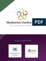 Manhattan Garden City Powerpoint Presentation CD