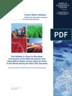 WEF ManagingFutureWater Needs DiscussionDocument 2009