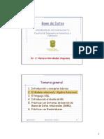 Bases de Datos - Tema 2