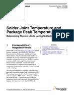 Jedec Industry Standard Classifications and Peak Solder Temperature