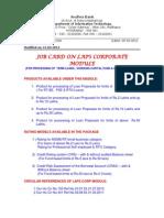 Cbs 226 Jobcard Laps Corporate Module