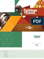 Catalogo de Cursos Embrapa Estudos e Capacitacao