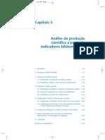 Análise da produção científica a partir de indicadores bibliométricos