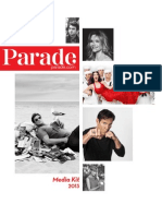 Parade Magazine 2013 Media Kit