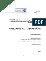 Autoevaluare Manual RO