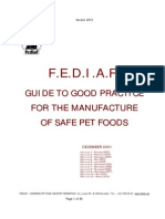 Fediaf Safety Guide 12-03-2010