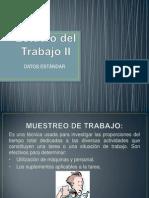 EXPOSICIÓN DE DATOS ESTANDAR