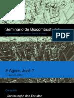 Seminário de Biocombustíveis