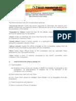 Dacet Debate Contest Guidelines