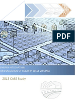 2013 CASE Study - Energy Integration