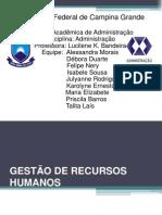 GESTÃO DE RECURSOS HUMANOS-ADM