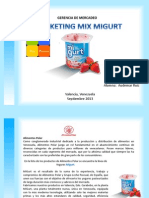Marketing Mix Migurt