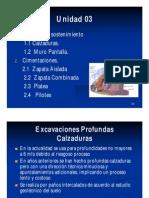 UND-03 Construccion Clase03 - Cimentaciones