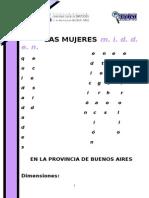 Las Mujeres MIDDEN en La Provincia de Buenos Aires-Primer Informe.
